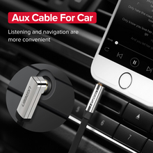 AUX Cable Jack 3.5mm Audio Cable 3.5 mm Jack Speaker Cable for JBL Headphones Car Xiaomi redmi 5 plus Oneplus 5t AUX Cord