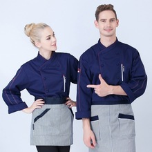 New Design Chef Jacket Chinese Style Food Service Restaurant Chef Uniform Hotel Kitchen Cook Clothes New Baker's Uniforms B-5681 new design chinese