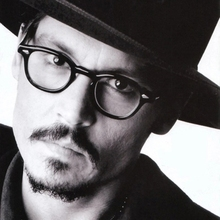 2018   Johnny Depp Style Glasses Men Retro Vintage Prescription Glasses Women Optical Spectacle Frame Clear lens
