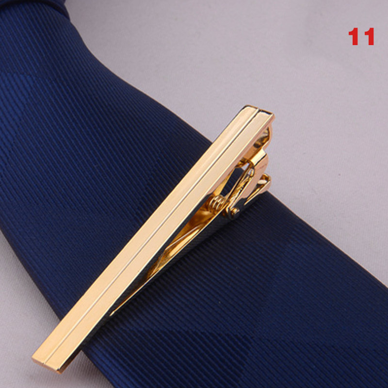 Newly Men Metal Alloy Tie Clip Clamp Necktie Bar Clasp Wedding Bridegroom Business Fashion Formal Gifts