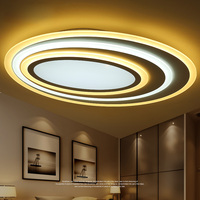 Modern LED Ceiling Lights Fixtures For Home Bedroom Room Living Room Touch Remote Control Dimming High