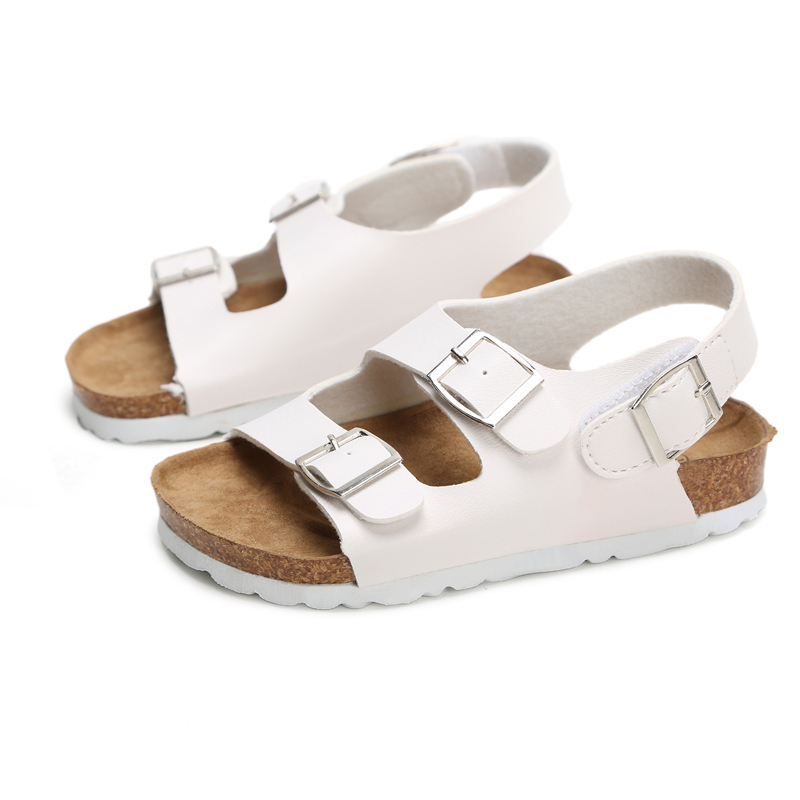 Sandals Child Footwear For Children Sandals Girls And Boys Sandals  Breathable  Flats  Shoes Summer Comfortable Leather Sandal