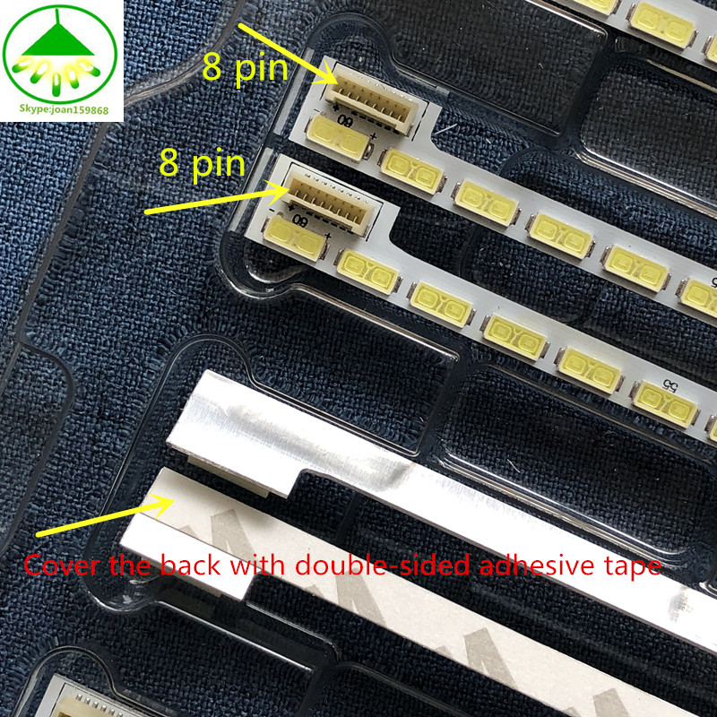 New 60LED 525mm LED Strip For LG 42LS5600 42LS560T 42LS570S 42LS575S T420HVN01.0 Innotek 42Inch 7030PKG 60ea 74.42T23.001-2-DS1