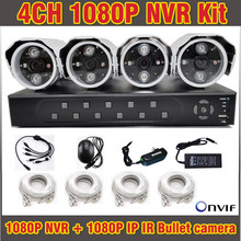 High Quality NVR 4CH 1080P H.264 Full HD CCTV NVR System Video Surveilance Security CCTV 4 Channel for IP Camera Onvif PTZ
