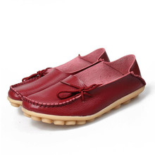 16 Colors Women Flat Shoes Slip On Woman Loafers Plus Size Women's Fashion Casual Shoes Moccasins Female Footwear 2017 QT179
