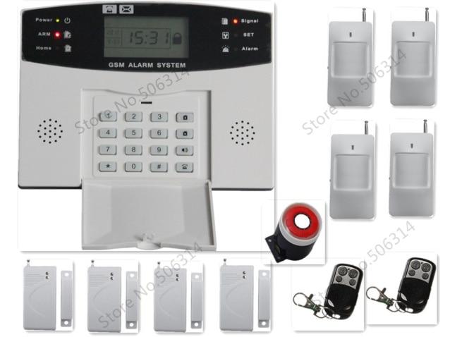 Security Alarm System Gsm