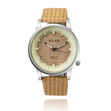 MILER Model Style Informal Watch Ladies Watches Leather-based Strap Quartz-Watch Girl Hour montre femme relogio feminino reloj mujer