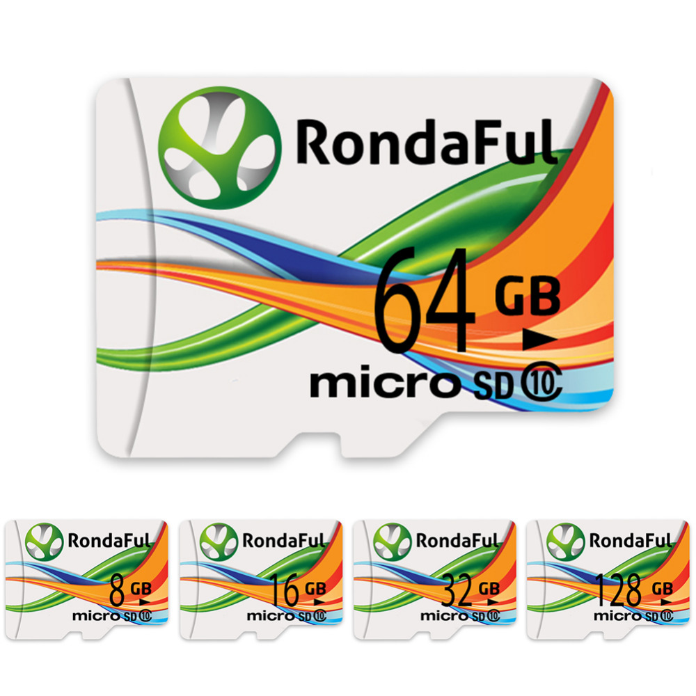 2017 05 512 xd picture card - Rondaful Full Capacity Memory Card 128gb Micro Sd Card 16gb 32gb 64gb Class10 Microsd