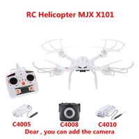 MJX X101 SYNC IMAGE Real Time RC Quadcopter BIG Drone Helicopter C4005 C4008 WIFI Camera FPV