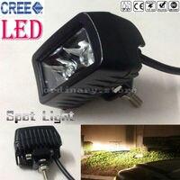 Super Bright CREE 15W Car Truck Offroad SUV ATV LED Headlight Driving Fog Spot Work Headlamp