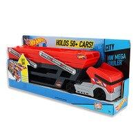 Baby Kids Big Cool Hot Wheels Mega Hauler Multi Layer Container Vehicles Trucks Transporter Toy