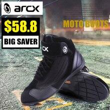 Раро мотоциклетные ботинки из дышащей ткани защиты Мото Мотоцикл Байкер Touring боты обувь для мужчин и женщин летние motobotinki
