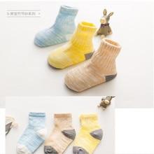 AJLONGER 3 шт./лот новые детские носки летние тонкие удобный дышащий хлопок модные детские носочки для малышей