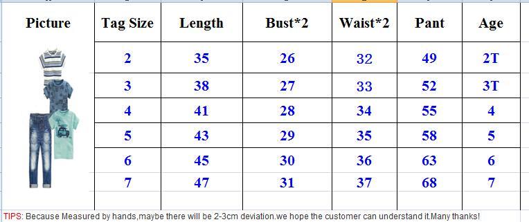 Wasailong-new-kids-clothes-summer-boys-clothes-4pcs-Short-sleeve-T-shirt-Boy-car-four-single-T-jeans-suit-5
