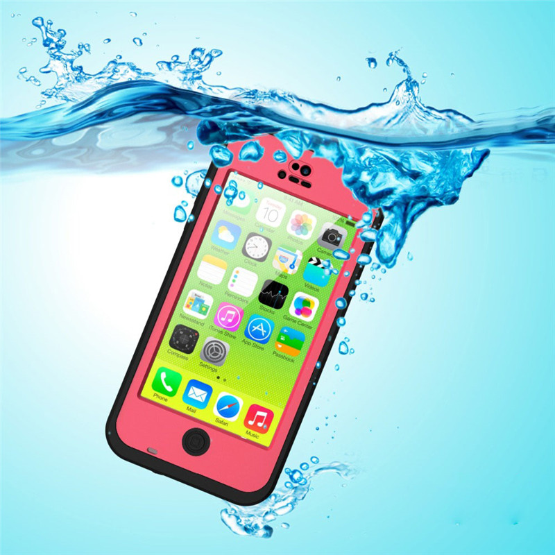 Waterproof Case for Apple IPhone 5C Shockproof Dirt Snowproof Durable Smart Phone Cases for IPhone 5