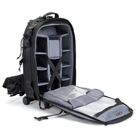LeTrend Shoulder Travel Bags Photography backpack Professional SLR camera bag shockproof Suitcase Wheels Cabin Trolley