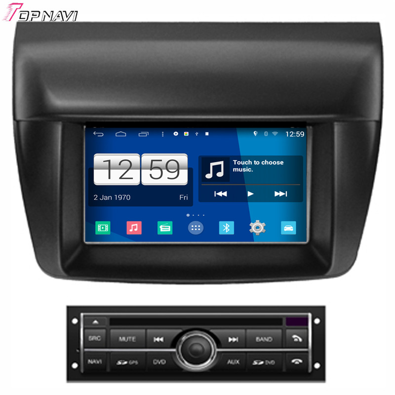 "Free Shipping 7"" Quad Core S160 Android 4.4 Car DVD GPS For Mistubishi L200 Low With Multimedia Stereo Radio Mirror Link Wifi"