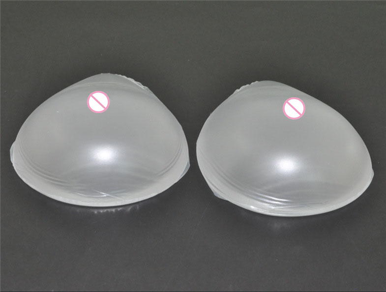 1pair 800g C cup Transparent False Breasts Silicone Breast Forms Fake boobs Tits Artificial bust pad transgender Cosplay Shemale 1200g dd cup boobs for drag shemale transgender prosthetic breasts cups for dresses silicone fake breast