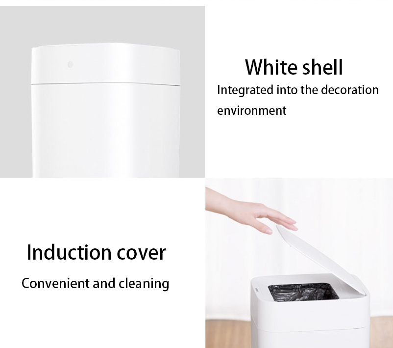 Responsible Original Xiaomi Mijia Townew T1 Smart Trash Can Motion Sensor Auto Sealing Led Induction Cover Trash 15.5l Mi Home Ashcan Bins Home Appliances Home Appliance Parts