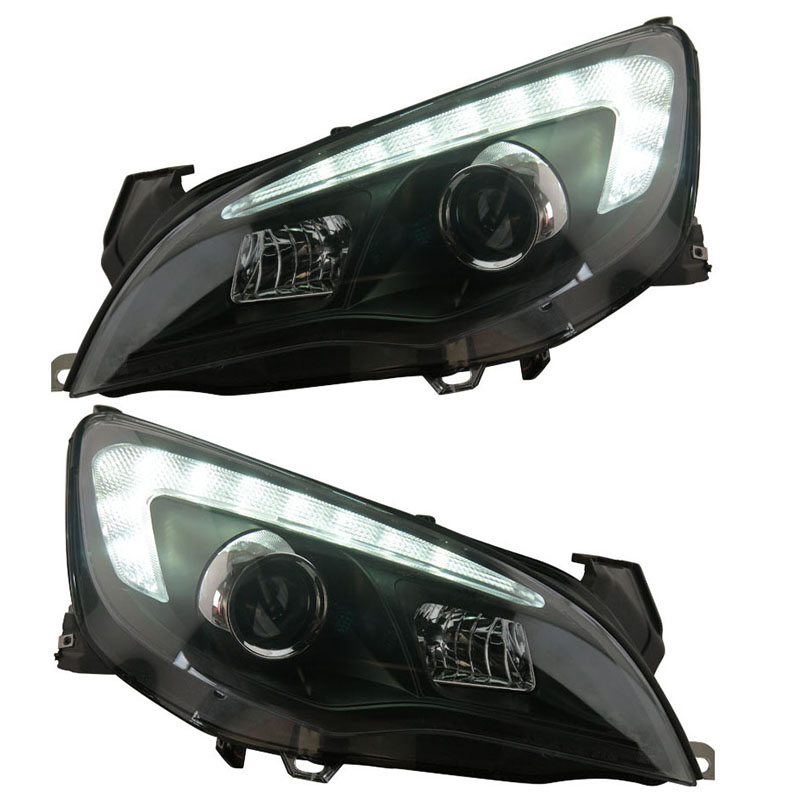 for Buick for Excelle XT for Opel Astra J LED Projector lens Headlights Assembly fit for cars 2010-up решетка радиатора buick gt xt