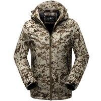 Camouflage jacket Winter Outerwear Casual Hoodie Coat Military Tactical Fleece Jacket Men camo Windbreaker Sportswear Clothes