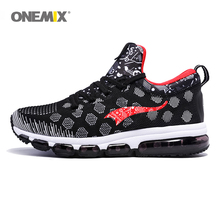 Sneakers Men Onemix Air Cushion Shoes Breathable Running Shoes Casual Outdoor Sports Walking Jogging Ladies Max 270 Runn Shoes onemix men flash running shoes air cushion wearable sport shoes breathable comfort fitness sneakers outdoor casual walking shoes