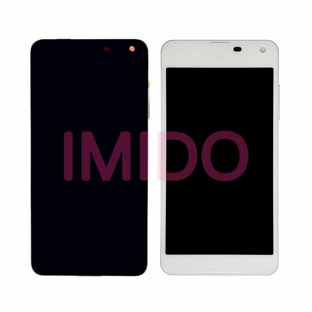 Para Nokia Lumia 650 RM-1152 RM-1154 RM-1109 RM-1113 Display LCD + Touch Screen Digitador Assembléia + Substituição do Quadro Peças