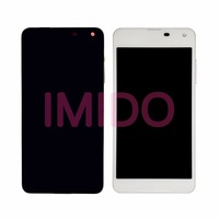 For Lumia 650 LCD Display Touch Screen Digitizer Assembly Frame Replacement Parts