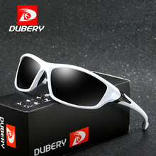 DUBERY Sunglasses Mens Driving Polarized Night Vision Sun Glasses For Men Square Sports Brand Luxury Mirror Shades Oculos D120