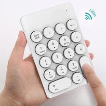 Wireless Mini Keyboard dan Mouse Keypad dengan 16 Keys Putaran untuk Laptop PC Hi 888(China)