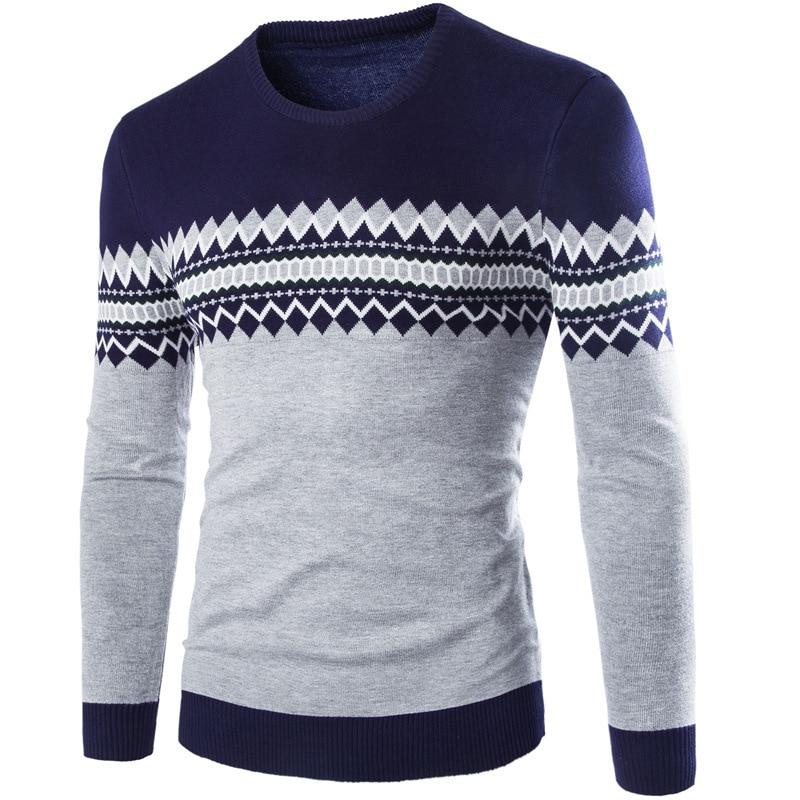 Mens Sweater 2018 New Autumn Winter Pullover Men Sweaters Cotton