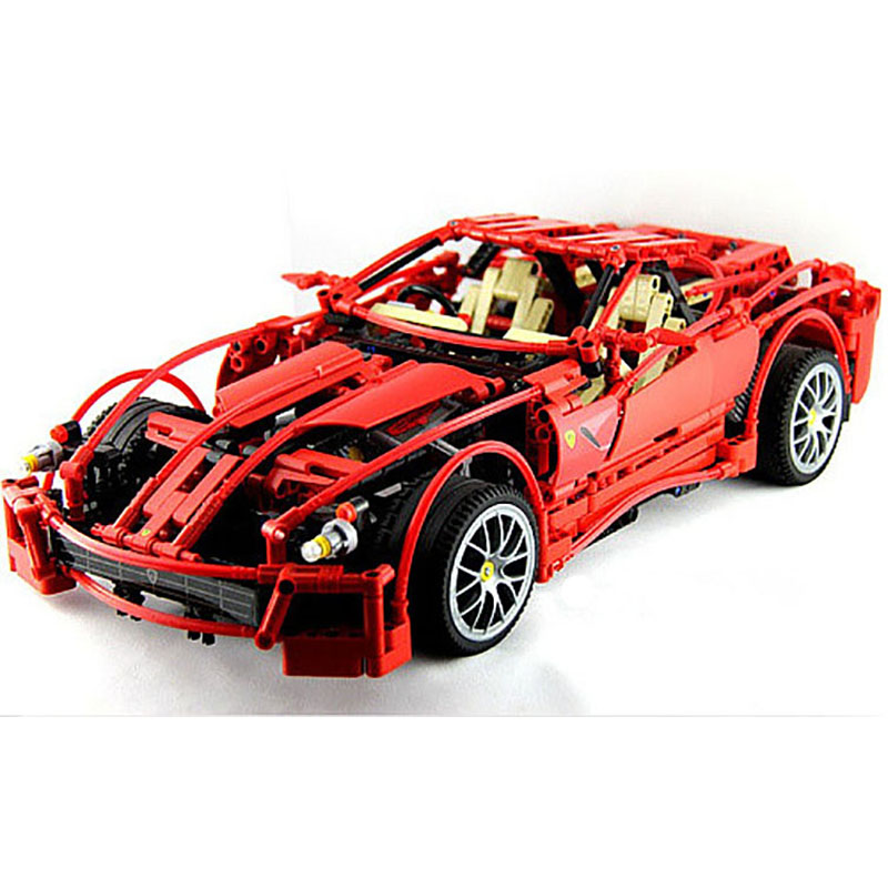 Technic Series Large 1:10 F1 Racing Car Model Bricks Building Blocks 1322pcs Educational Children Toys for Boys Compatible 8145 on stock new super thomas small train electric track car boy puzzle large car racing for children s christmas gift kids toys
