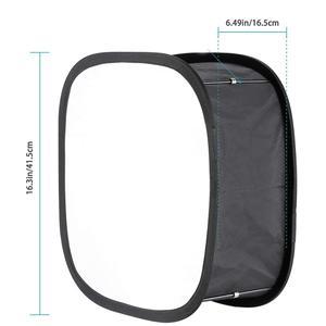Image 5 - Difusor Softbox 23*23 para YONGNUO YN600L II YN900 YN300 YN300 III Panel de luz de vídeo Led filtro suave plegable