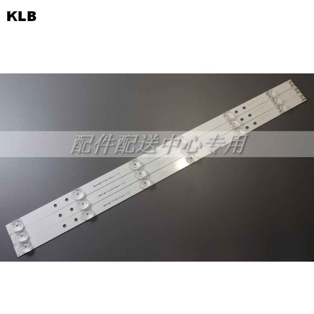 "3 pcs x TV LED Strips 6-lampen voor LG 32 ""TV 32MB25VQ 6916l-1974A 1975A 1981A lv320DUE 32LF5800 32LB5610 innotek drt 3.0 32"