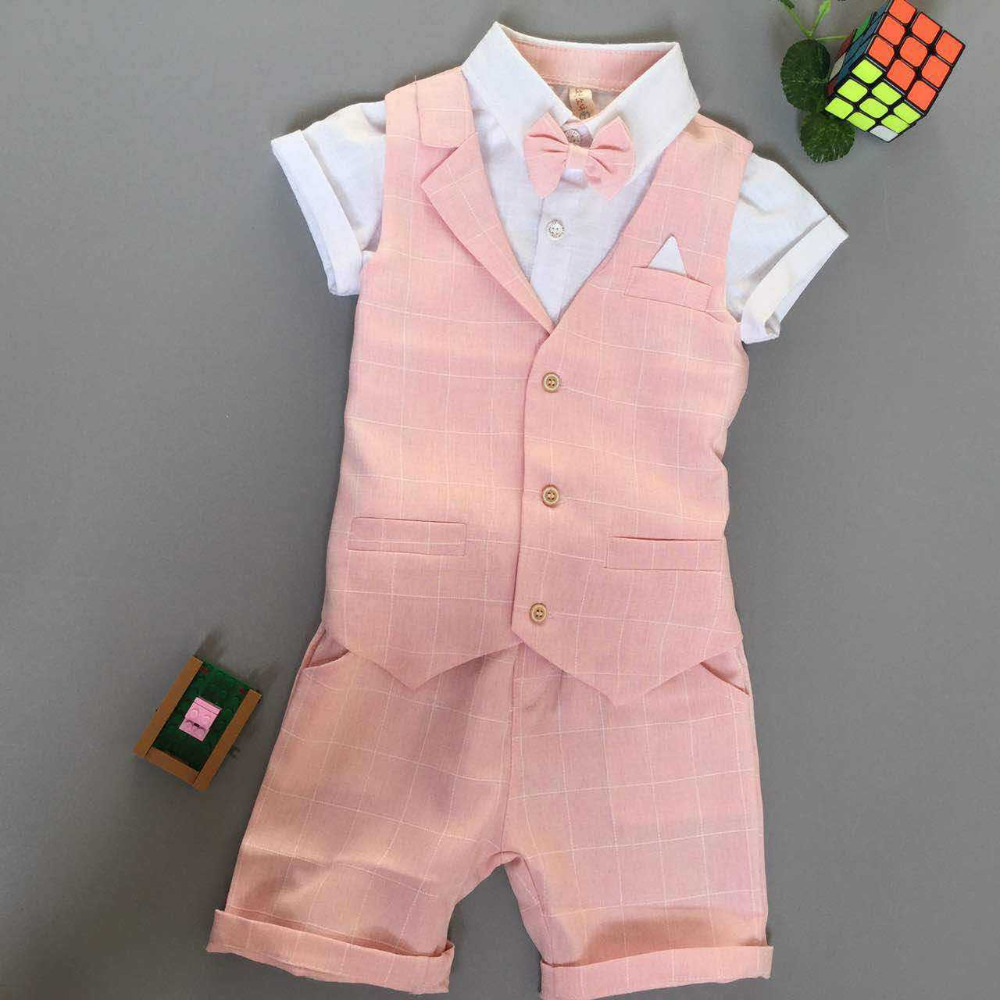 New Children 39 s Formal Sets wedding suits for baby boys wedding clothes boy birthday dress kids Children clothing in Clothing Sets from Mother amp Kids