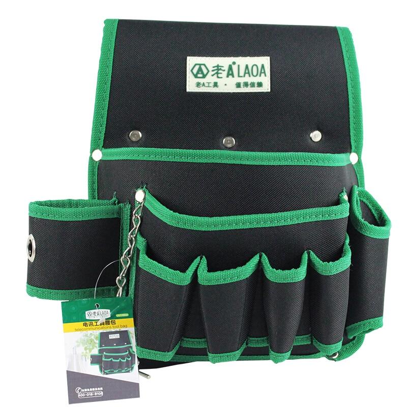 LAOA Multifunción Herramienta Cinturón 600D Doble Capa Oxford Tela - Almacenamiento de herramientas - foto 6