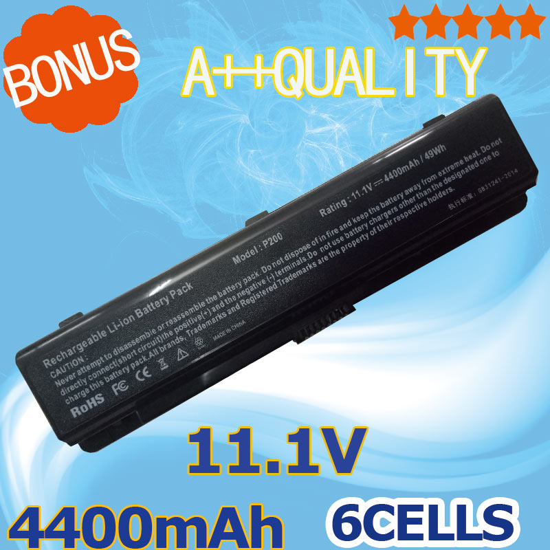 11.1 V 4400 mAh batterie d'ordinateur portable pour Samsung 200B 400B 600B 600B5C NP200B NP400B NP600B P200 Série AA-PLAN9AB AA-PBAN6AB