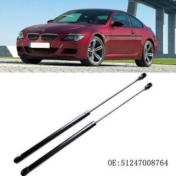1 مجموعة الخلفية الباب الخلفي التمهيد الدعامات الغاز صدمة الدعامات الربيع رفع يدعم ل BMW E63 2004