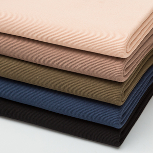 Thin Cotton Spandex Rib Fabric 160 Gsm For Summer T-Shirt And Tops Stretchy Jersey Cuff Fabric 0.25m/0.5m/Piece A0275