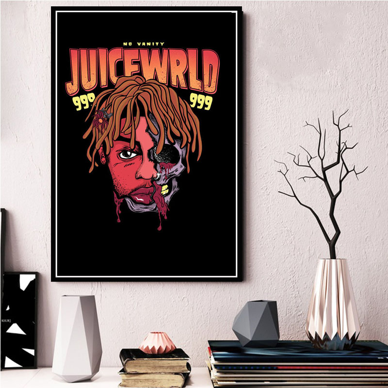 Details about  /K-292 Juice WRLD Death Race For Love Art Silk Poster 30 24x36 Music Rapper