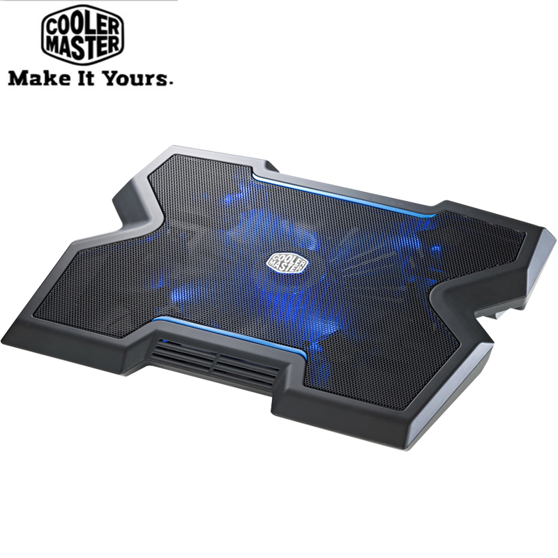 Cooler Master R9-NBC-NPX3 Non-slip Laptop Cooling Pad with 200mm LED Blu-ray silent fan For Laptop Cooler Pad Base 9''-17''