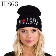 HTERS Hiphop Fashion Letter Hats Gorros Bonnets Cocain & Cav