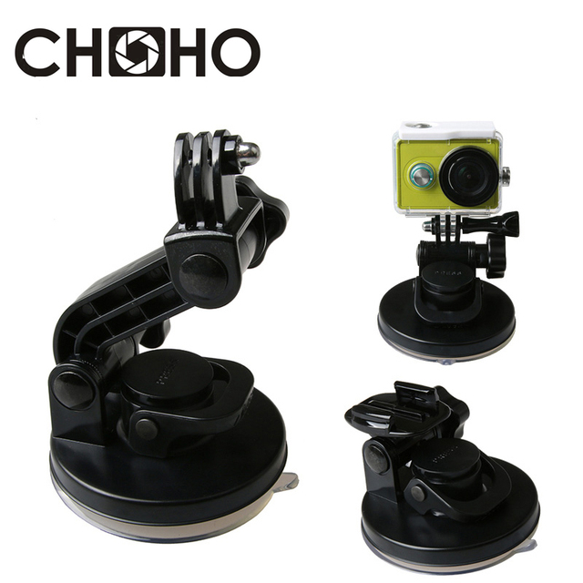 Removable Car Suction Cup 9CM Mount Holder Strong for Gopro Hero 8 7 6 5 4 3+ 3 SJCAM SJ4000 XiaYi Xiaomi Yi 4K Accessories