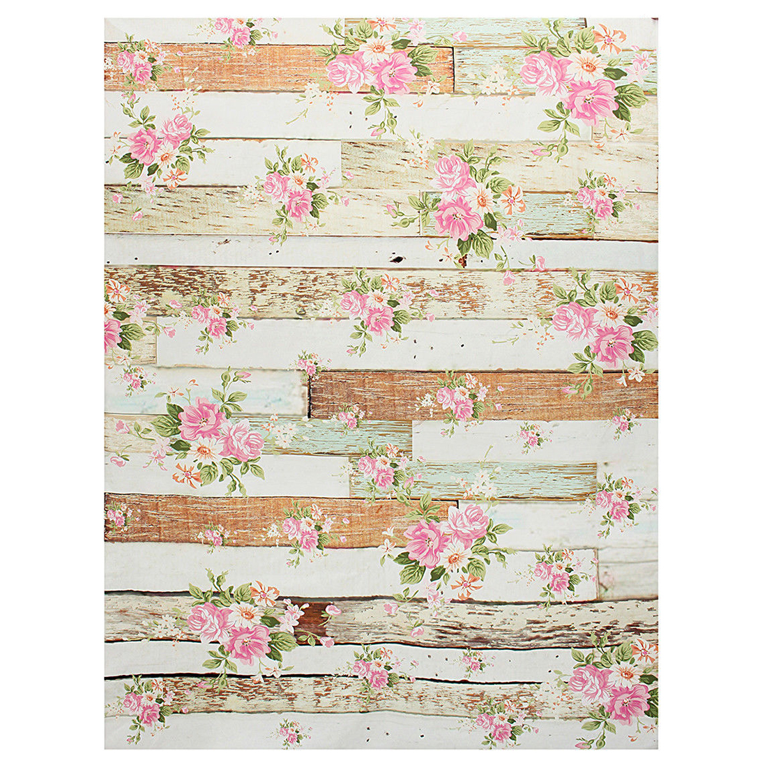 3x5ft Vinyl Photography Backdrop Photo Prop Background Brick Wood Wall Studio #39 Rose Flowers Wood shengyongbao 7x5ft vinyl custom photography backdrop prop white brick wall theme studio background nwz 02