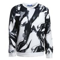 Men S Digital Printing Ink Painting Pullover Tops Casual O Neck Sweatshirt