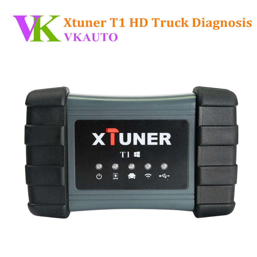 XTUNER T1 HD Heavy Duty Truck Diagnostic Tool Auto Intelligent Diesel OBD Scanner OBD II Scan Tool Support WiFi