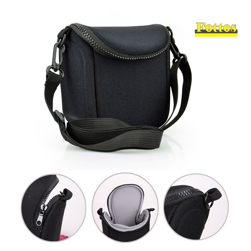 Camera Bag Cover for Panasonic <font><b>Lumix</b></font> DMC-GF2 GF3 GF5 GF6 GF7 gf8 gf9 GX1 GX7II <font><b>GX7</b></font> GX80 GX85 portable protector case pouch image