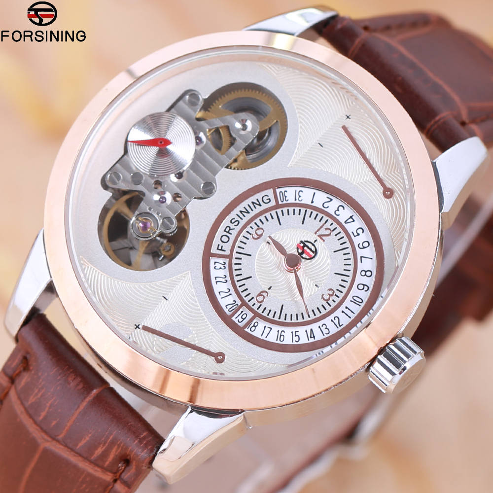 FORSINING Watches Men Luxury Top Brand tourbillon Mechanical Watch Fashion business sport casual Wristwatch relogio masculino binssaw automatic watches men top luxury brand mechanical watch tourbillon fashion business wristwatch sport relogio masculino page 2