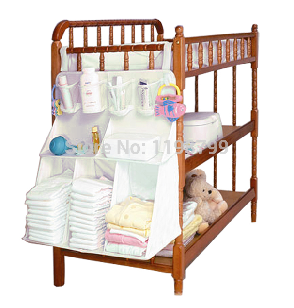 Convenient Baby Bed Of Head Bag Baby Diaper Large Miscellaneously Storage  Bag bedding Oragenizer Free Shipping