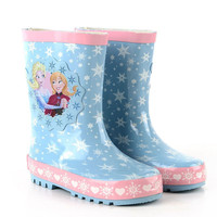 Newest Waterproof Kids PVC Boots Jelly Soft Infant Shoe Girl Boots Baby Rain Boots With Catoon